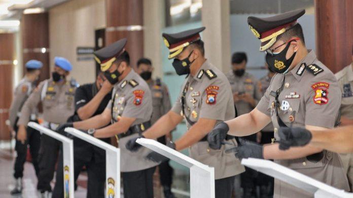 Kapolda Jatim Pimpin Sertijab 12 PJU dan Kapolres Jajaran